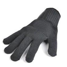 Черные устойчивые к порезам перчатки рабочие перчатки защитные руки безопасность для ножей перчатки
