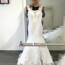 Amanda Chen 100% Real Photo Mermaid Wedding Dress Dress For
