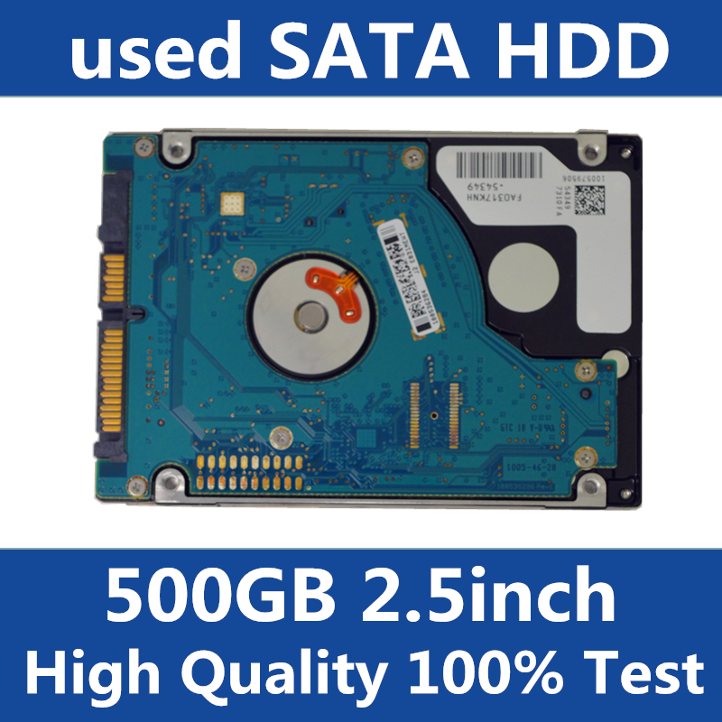 USED OLD HDD 2.5 500GB SATA Laptop Hard Drive 500GB Hard Disk Used Internal hard drive many brands optional 6sl3243 0bb30 1pa2 6sl32430bb301pa2 used 100