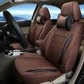 Styling Car Asiento Cubiertas y Ayudas para MG 3SW Cubierta de Asiento de Coche Set Custom Fit Cubierta Protector de Lino Asientos de Automóviles para coches