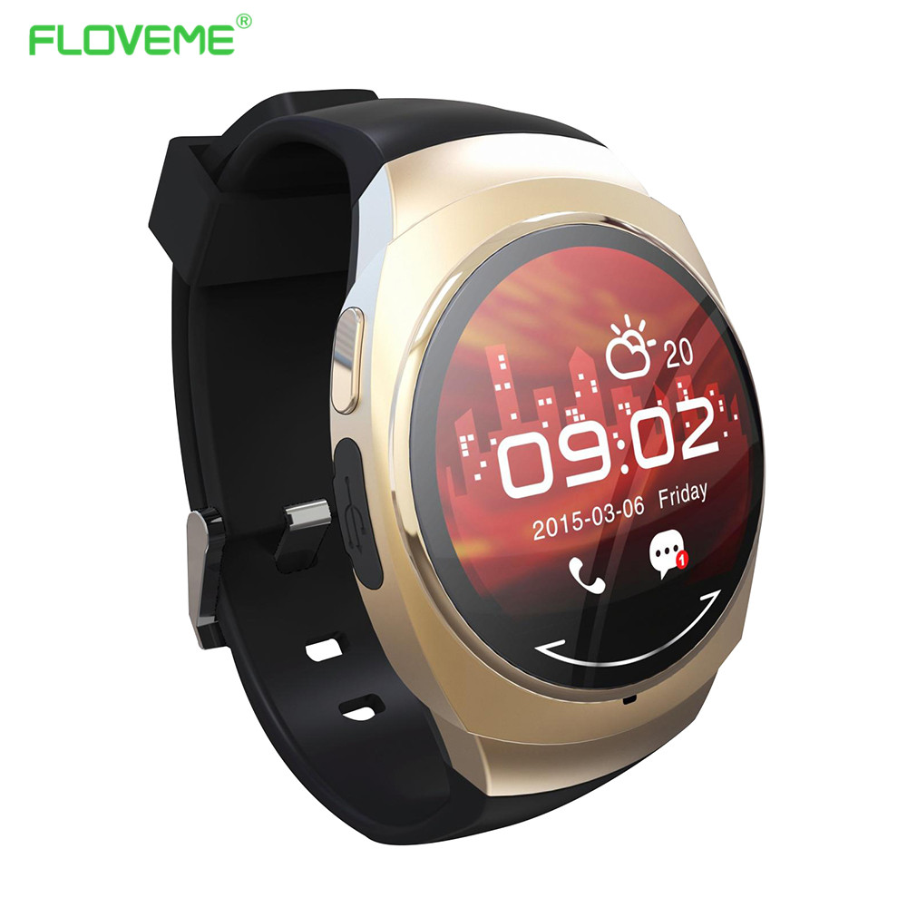 FLOVEME G1 Smart Watch Sport Wristwatch For iPhone For Samsung Android IOS Phone Bluetooth Fitness Running Call Smart Wristwatch