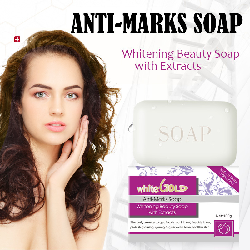 Handmade Anti-Marks Soap Facial Lifting Moisturizing Skin Care Repair Anti-wrinkle Whitening Face Cleaning Acne treatment 100g