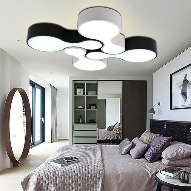 Creative DIY Modern Led Ceiling Lights For Living Room Bedroom Foyer Corridor Home Decoration Lighting