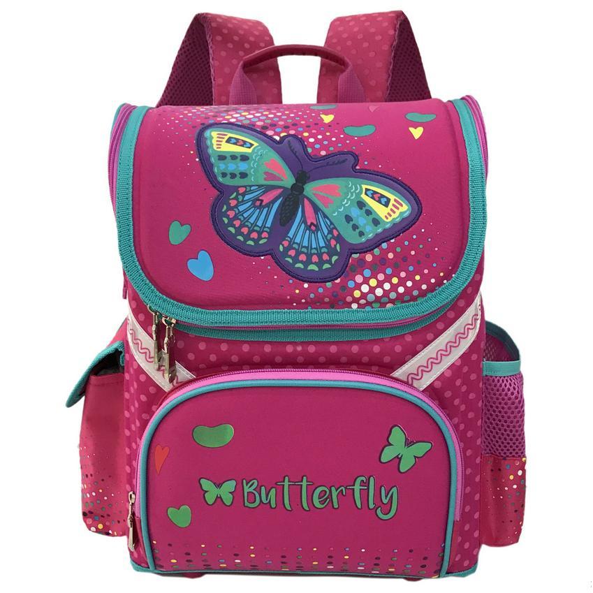 2017 new Princess Girl Backpack School New Children Cartoon Cat Kids Backpack Orthopedic School Bag For Girls 2017 grade 1 3 5 princess girl new school backpack children cartoon cat kids backpack orthopedic school bag for boys