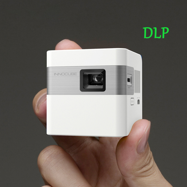 Nueva G100T MINI Portátil 1920*1080 P Full HD DLP pico proyector de cine en casa proyector del juego de vídeo de apoyo WIN CE syste