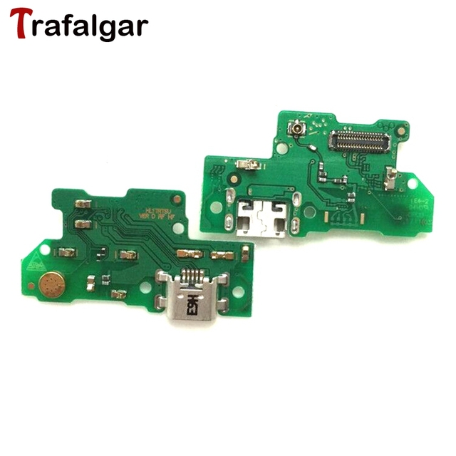 US $8 99 |2017 Huawei Y7 Prime USB Charging Port Board Dock Charger  Connector Flex Cable For Huawei Y7 Charging Board TRT L21 LX2 LX1 LX3-in  Mobile