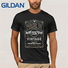 GILDAN T Shirt Design Pattern Made In 1996 Born 21st Year Birthday Age