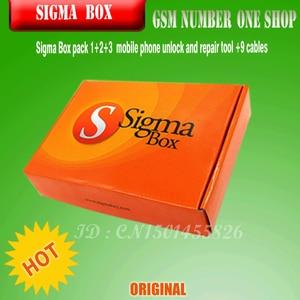 Image 3 - 최신 100% 오리지널 시그마 박스 + Pack1 + Pack2 + Pack3 화웨이의 새로운 업데이트