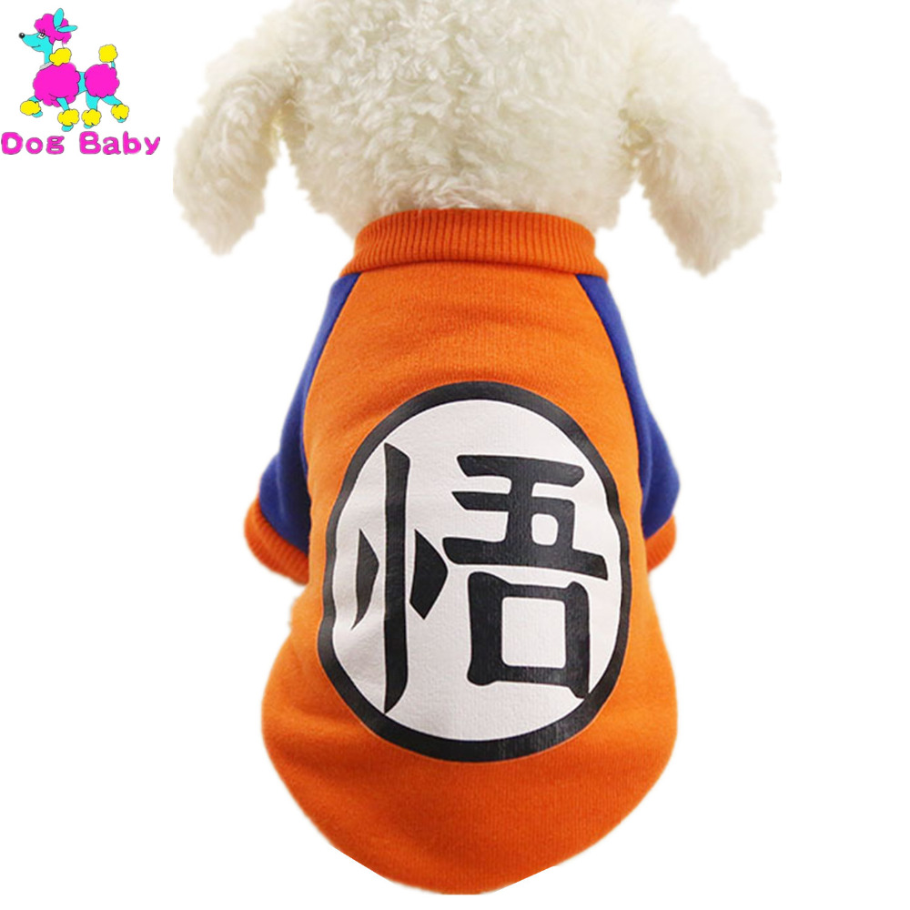 DOGBABY Cartoon Print Dog kapucnis pulóverek 100% pamut szuper meleg - Pet termékek