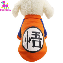 DOGBABY Cartoon Print Dog Hoodies 100% Cotton Super Warm Winter Clothes For Dog Cat Two Legs Pet Apparel Cute Fashion Dogs Coat