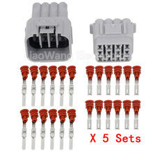 5 Sets/Kits 12 Pin/Way Waterproof Electrical Wire Connector DJ7125Y-2.2-11/21 Male and female Automobile Connector