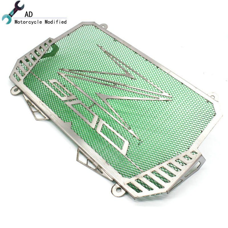 Motorcycle Stainless Steel Radiator Grille Guard Protection For KAWASAKI Z900 2017 Bezel Engine Grill Guard cover ! chrome motorcycle accessories engine radiator bezel grille protector grille guard cover for kawasaki z900 2017