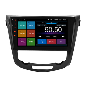 Image 2 - 안드로이드 9.1 ips 스크린 자동차 스테레오 닛산 엑스 트레일 qashqai 2014 2017 dvd 플레이어 2 딘 라디오 비디오 gps 네비게이션 멀티미디어