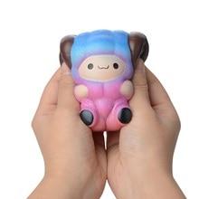 Kawaii Squishy Antistress Entertainment Rebound Toy Squishe animal Alpaca Children Stress Relief Anti-stress Toys Squeeze J75