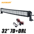 """7D 32"""" 300W DRL Curved LED Light Bar CREE Chips Spot Flood Combo Beam Offroad 12V 24V Truck ATV RZR SUV 4WD Tractor 4X4 Camper"""