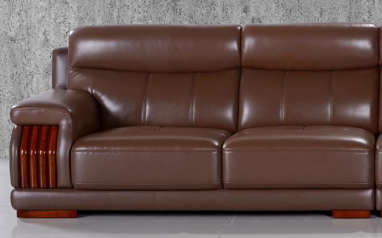 Estilo americano muebles moderno y de diseño elegante brown color de grano superior cuero genuino en.jpg