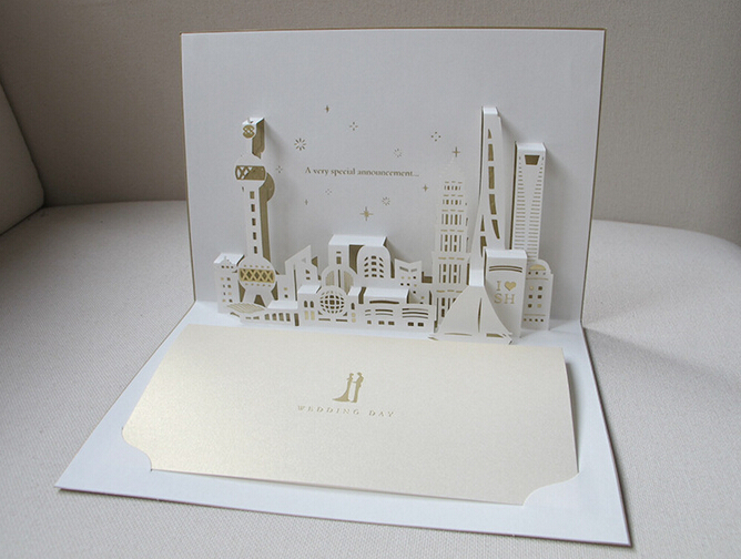 aliexpress  buy mm  mm creative d greeting cards, invitation samples