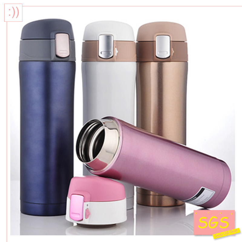 SGS 500ml Thermos Cup Stainless Steel Bottle Vacuum Flasks Thermoses garrafa termica infantil my bottle thermo