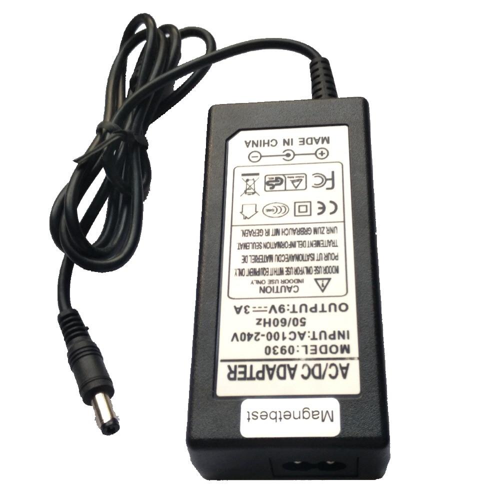 Ladegerät für Line 6 POD HD300 Multieffektgerät 9V Netzteil