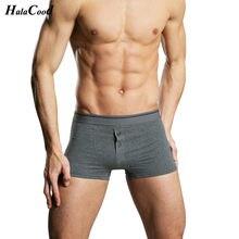 Cuecas masculinas boxer, venda quente da moda, sexy, de algodão, para homens, tamanho grande, roupa íntima, confortável gordura
