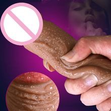 New Skin feeling Realistic Penis Super Huge Big Dildo With Suction Cup Sex Toys for Woman