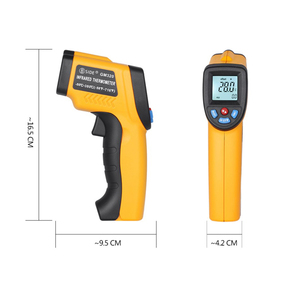 Image 5 - BSIDE GM320 Non Contact Digital Laser Infrared Thermometer LCD Display C/F Selection IR Temperature Meter Tester with 4 Button