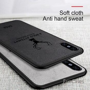 Funda de tela de ciervo para teléfono iPhone Xs Max XR X...
