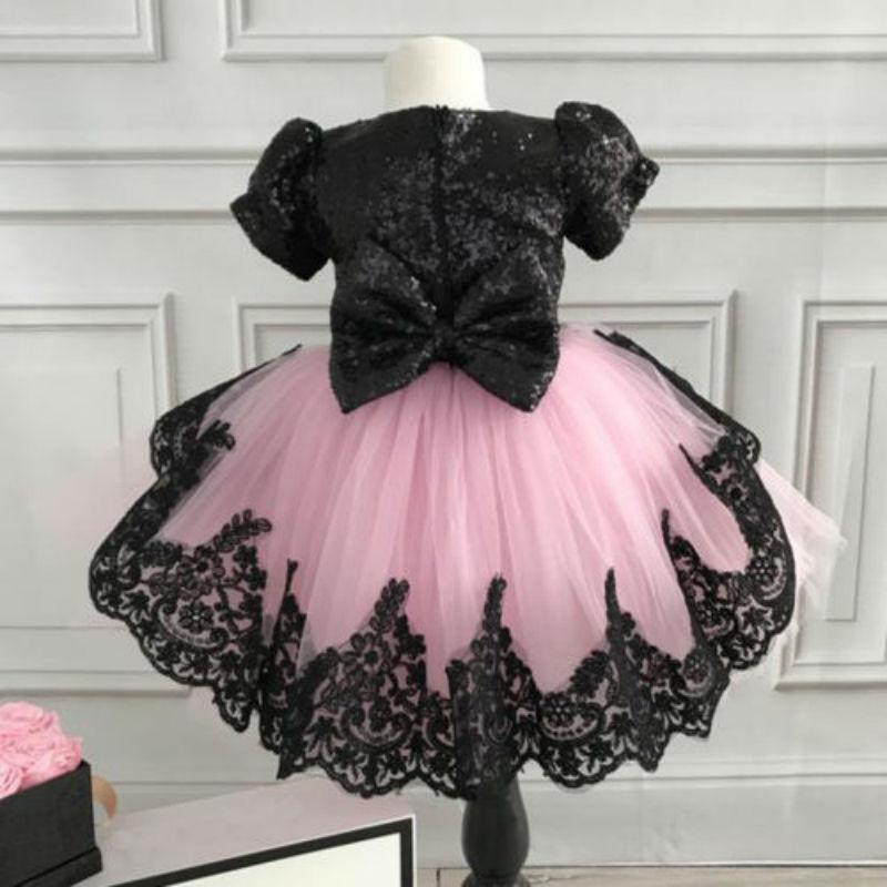 Детское платье на свадьбу для маленьких девочек, платье с цветочным узором для девочек, платье принцессы для торжеств и торжеств, кружевное ...