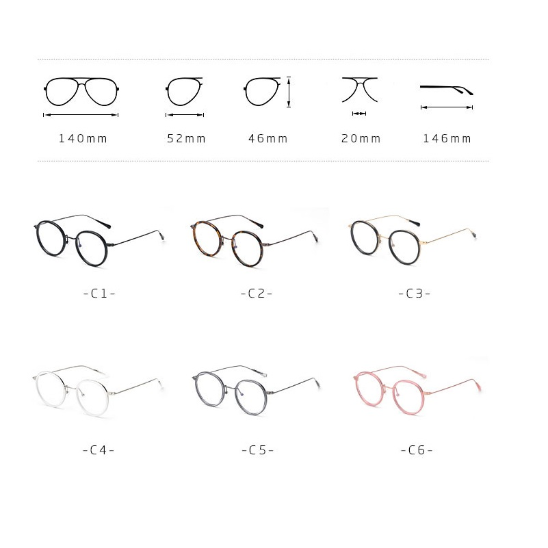 35e47f87b0 Vazrobe TR90 Small Round Glasses Men Women white Eyeglasses Frame nerd for male  Prescription Optical lens myopia men s degree-in Eyewear Frames from  Apparel ...