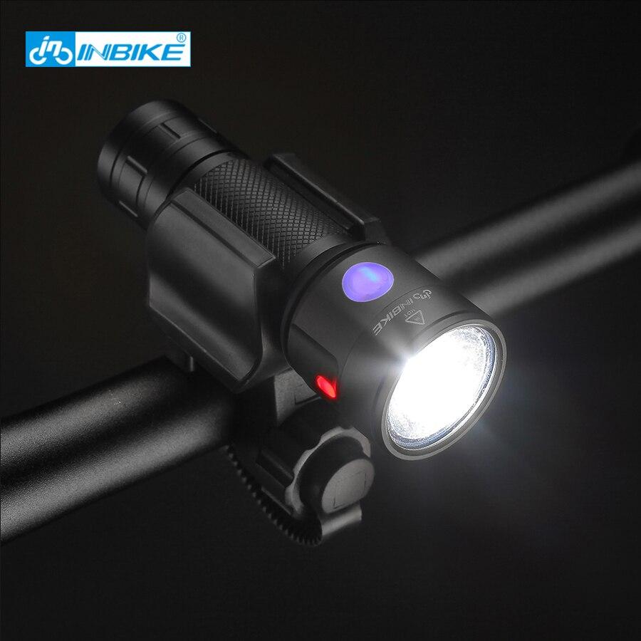 Impermeable recargable luz de la bicicleta del cree xm-l2 u3 18650 usb seguridad