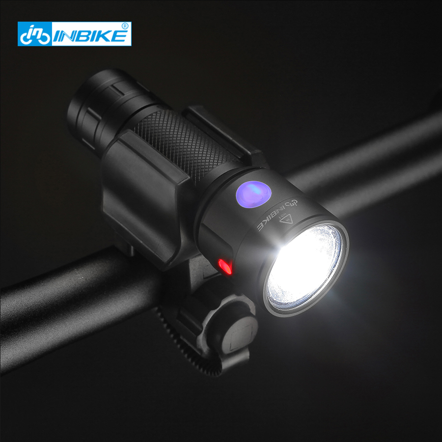 Waterproof Rechargeable Bicycle Light Cree Xm L2 U3 18650 Usb Led