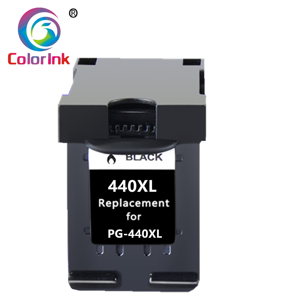 ColoInk 1Pack Compatible 440XL Ink Cartridge Replacement PG <font><b>440</b></font> <font><b>XL</b></font> <font><b>Canon</b></font> PIXMA MG2180 MG2240 MG3180 MG4180 MG4280 MX378 MX438 image
