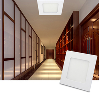 24W Panel Light Ultra Thin LED Ceiling Panel Lamp 3200K 6500K Recessed LED Lighting kitchen foyer hallway for Home Decor