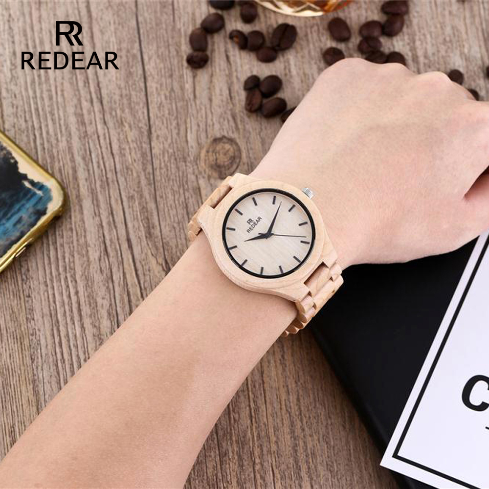 REDEAR Pine Wooden Quartz Watch Season Gift Edition - Әйелдер сағаттары - фото 6