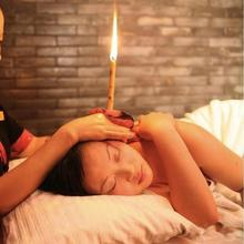 1 пара ушной воск для удаления свечей, очищающие свечи, здоровый уход, полый Конинг, лечение, Индиана, терапия, ароматизатор, восковая свеча