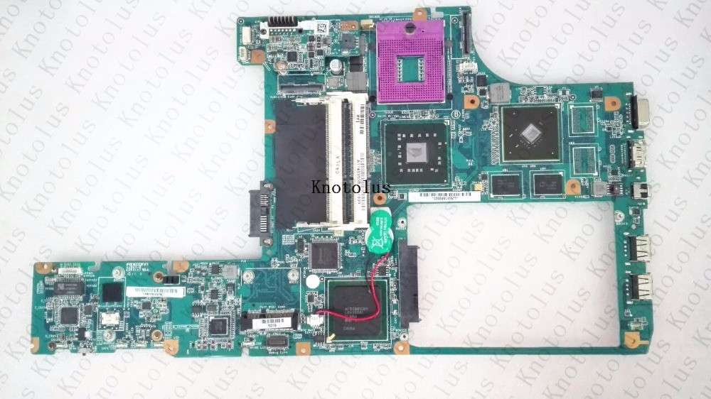 1P-0098J00-8011 A1749960B For Sony M870 MBX-214 laptop motherboard DDR3 Free Shipping 100% test ok laptop motherboard for sony vgn fw a1727021a mbx 189 m763 1p 0091j00 8010 pm45 ati 216 0729042 ddr3