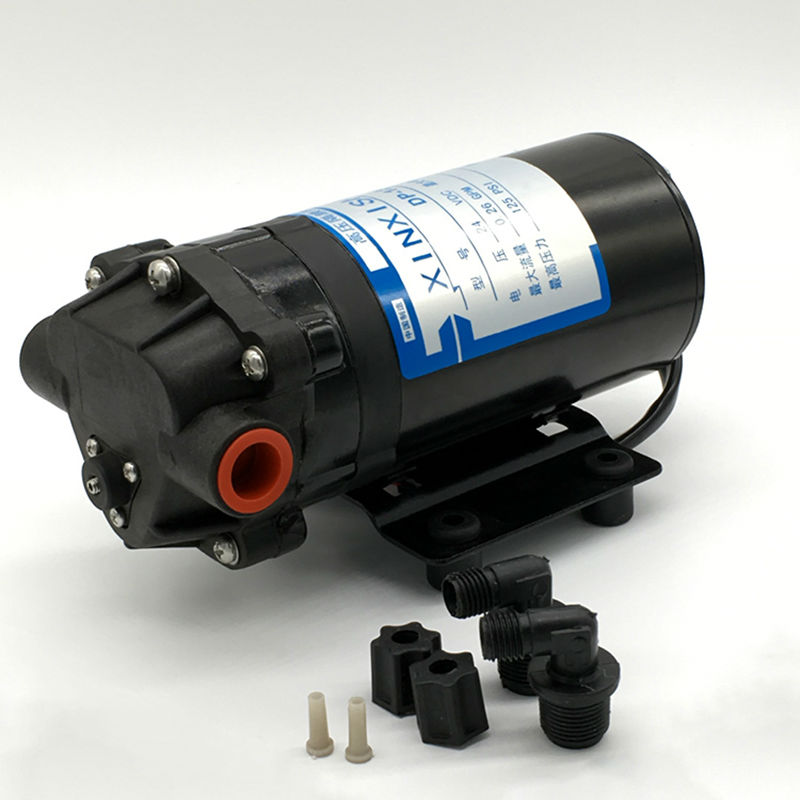 Micro Diaphragm Vacuum Water Pump DP-125 DC 24V use for Spray Equipment Reciprocating Car Washing Garden Irrigation CE Approved
