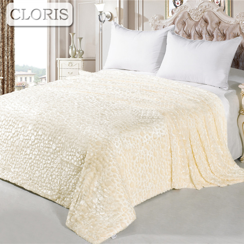 CLORIS New 2018 Blanket Super Soft Throw Blanket On Sofa Bed Plane Travel Plaids Adult Home Textile Summer Winter Blanket Gift