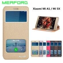 For Xiaomi Mi A1 Case 5.5 inch Luxury Wallet Flip PU Leather Cover For Xiaomi Mi A1 MiA1 Mi5X Mi 5X Case View Stand Fundas Coque