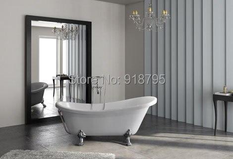 Стеклянная ванночка faber 1750*800*820 мм с золотыми ножками, Автономная ванночка для спа в помещении с сертификатом CUPC RS6530