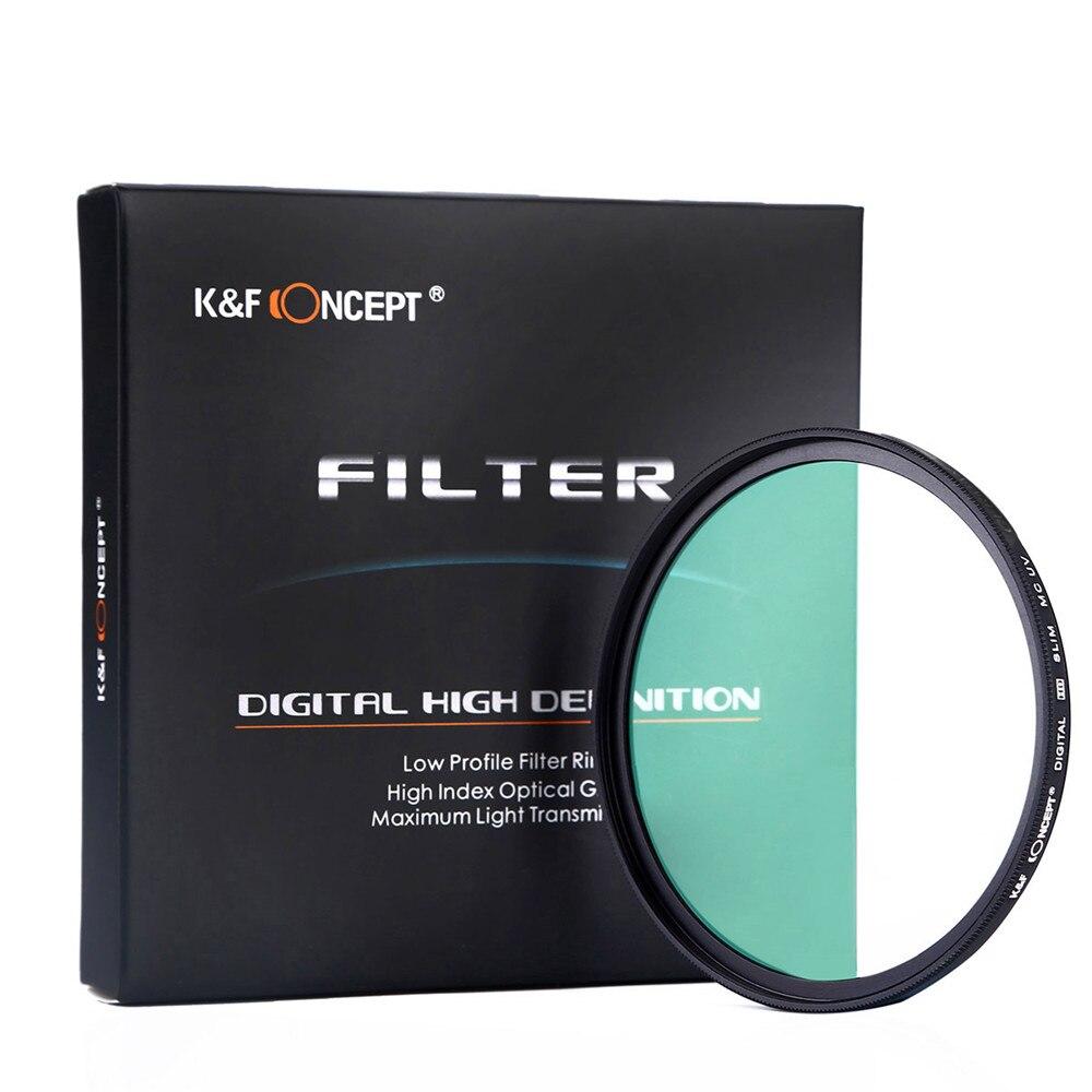 Multi-layer UV Filter Camera Outdoor Travel Graduation Shooting Accessories UV Protection Lens Professional Camera Lens Accessor