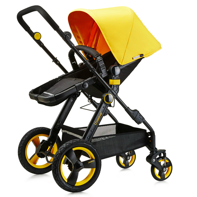 Best Selling Baby Stroller High Landscap lying Folding Four Wheel Shockproof Baby Cart Portable Pram Baby Activity Supplies mige stroller baby trolley cart folding baby carriage baby cart can be lying on the baby cart portable cart pram with 3 gift