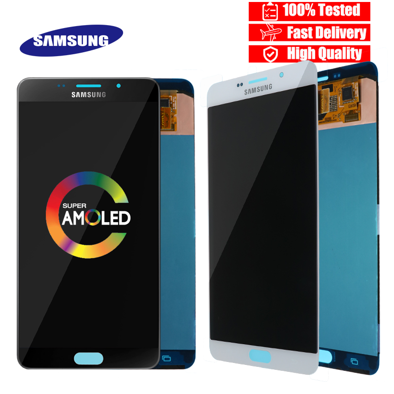 Super AMOLED 6 0 Display For SAMSUNG Galaxy A9 A9000 A900 A900F LCD Screen Touch Digitizer