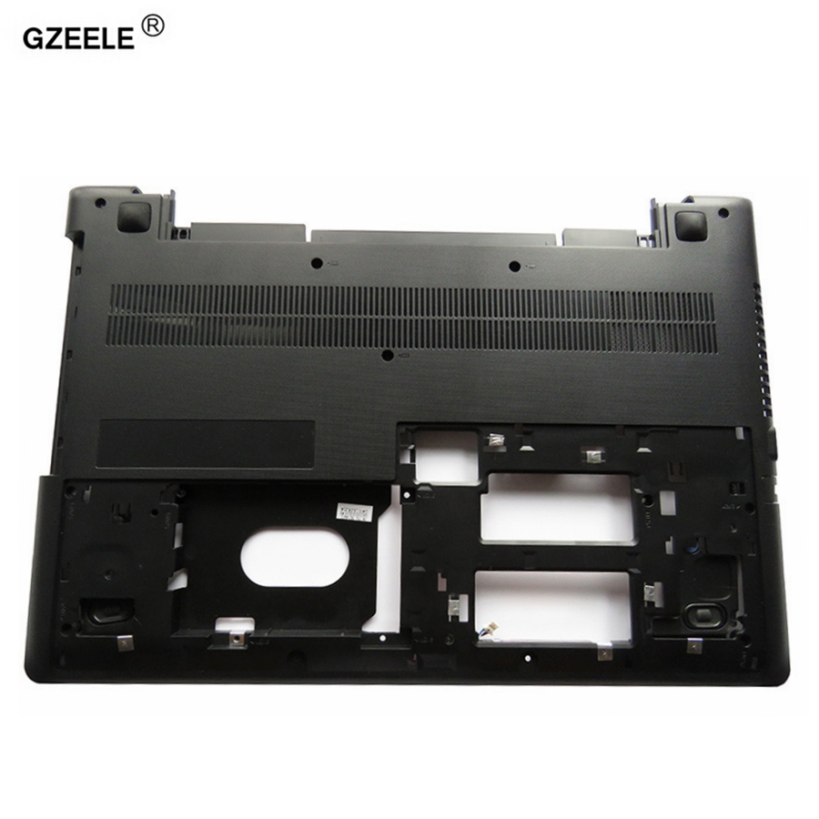 GZEELE Laptop Bottom Base Case Cover FOR Lenovo IdeaPad 300 300-15 300-15ISK 300-15-ifi 300-15IBR 15.6 Lower case AP0YM000400 new for lenovo ideapad yoga 13 bottom chassis cover lower case base shell orange w speaker l