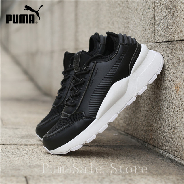 dfdfc97b4a US $65.16 17% OFF|PUMA RS 0 Sound Women Sneakers 366890 05 06 White Black R  System Cushioning Shoes Sneaker Wn's Sport Shoes Size EUR36 39-in ...