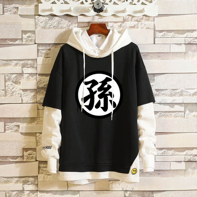 DRAGON BALL THEMED PULLOVER HOODIE (10 VARIAN)