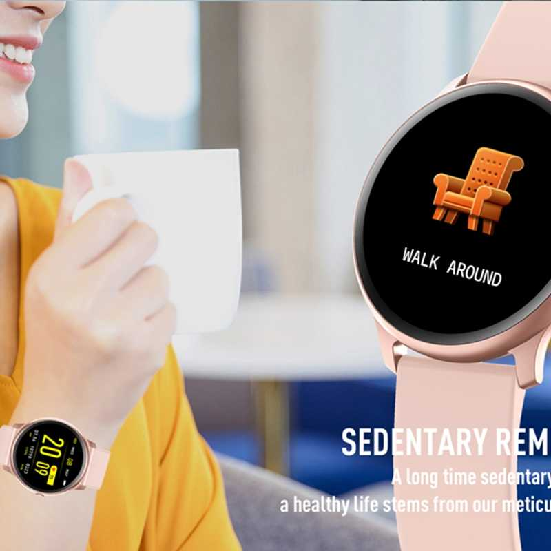 KW19 الرجال Smartwatch للماء يمكن ارتداؤها جهاز مراقب معدل ضربات القلب اللون عرض الرياضية النساء ساعة ذكية ل IOS سامسونج pk Dt88