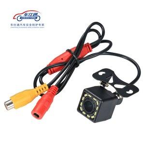 Image 3 - Auto Backup Kamera 4 8 12 LED licht nachtsicht rückfahr mit parkplatz linie IP68 wasserdichte Rückansicht Kamera