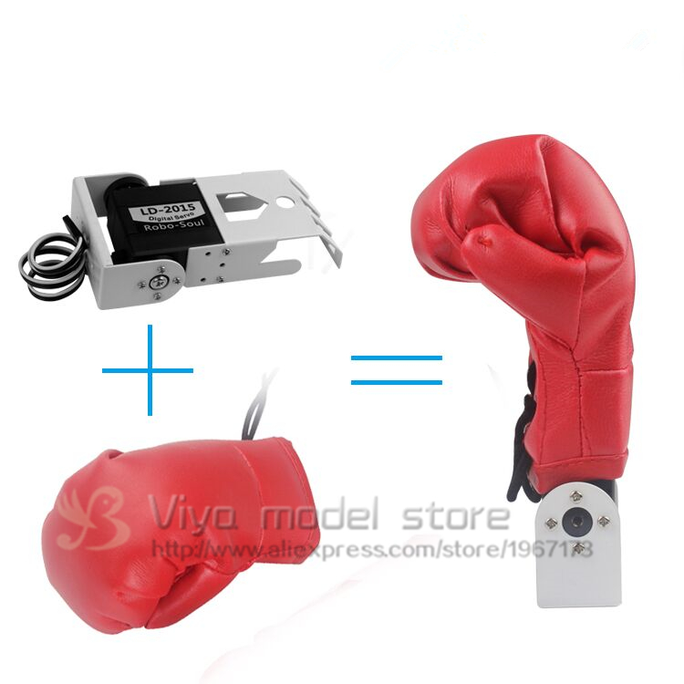 US $10 8 10% OFF Humanoid robot boxing gloves / leather / Fighting robot  hand/robot accessories / fighting dedicated / Robot hand-in Action & Toy
