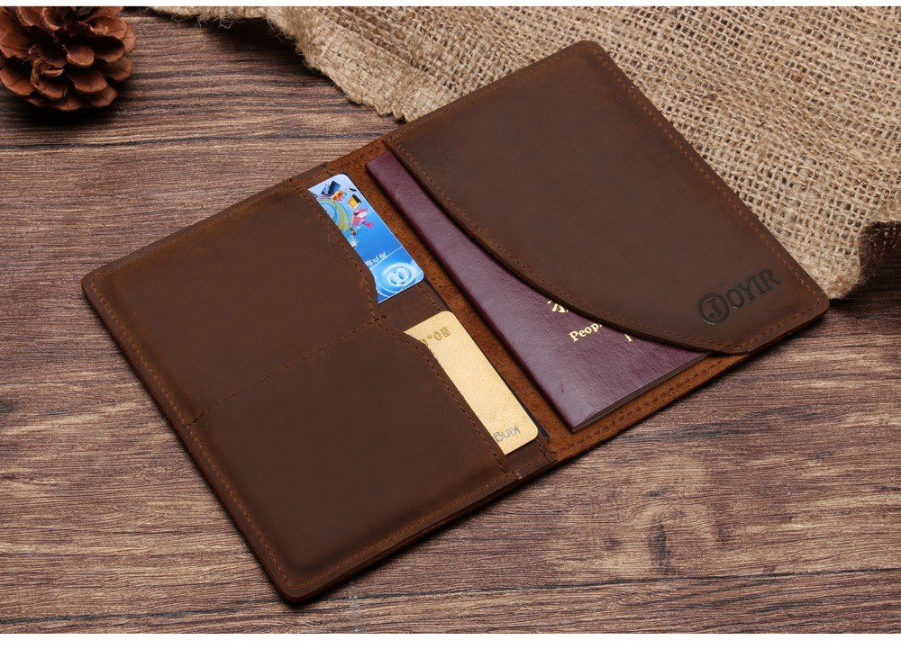 K018-- Luxury Genuine Leather Passport Holder Wallet_01 (5)